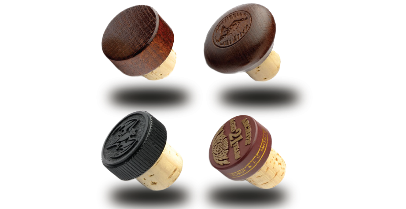Elegance Premium Bottle Stoppers