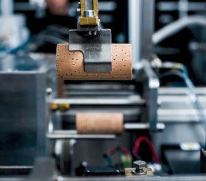 Cork processing